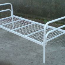 В бытовки для строителей кровати металлические