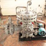 Мембранный компрессорный агрегат 1,6 МК, (б/у) для сжатия газов