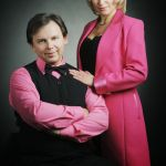 Поющие ведущие Виктор и Светлана на свадьбу.