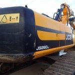 Запасные части экскаватора JCB JS260